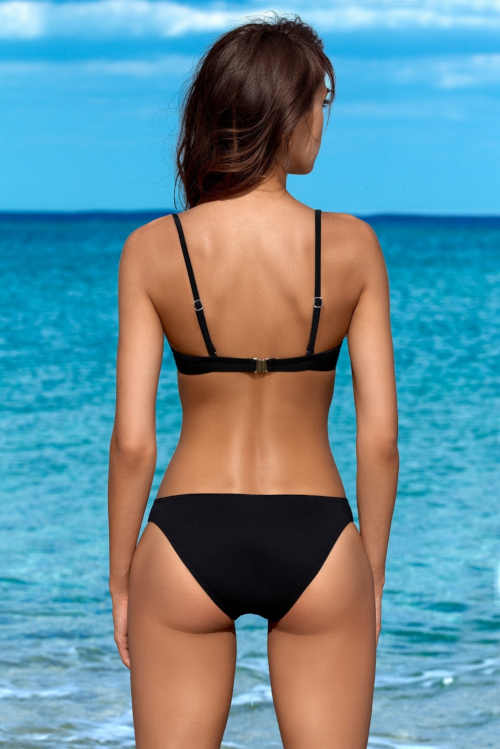 Damskie bikini push-up dwukolorowe