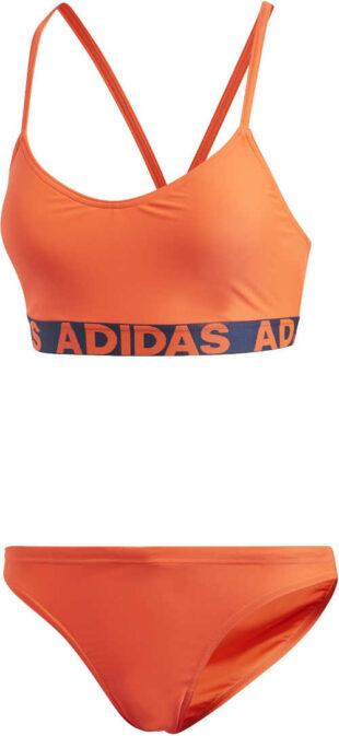 Nowoczesne bikini damskie o sportowym kroju i wykonane z wysokiej jakości materiałów.